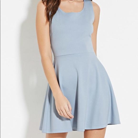 light blue dress forever 21